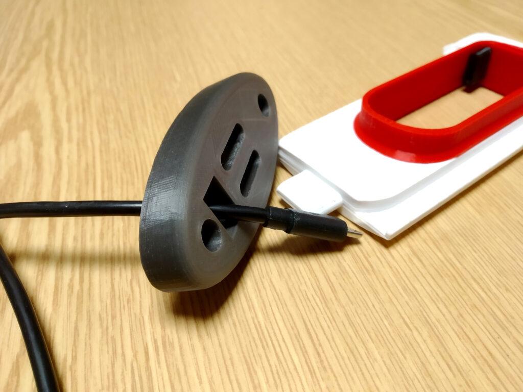 Base mit Kabel